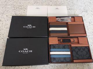 BN Coach Men's 3 in 1 Wallet Gift Set