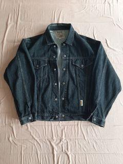 Bobson Trucker Denim Jacket Black