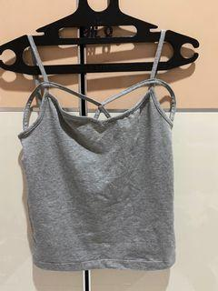 COLORBOX TANK TOP GREY SLING X