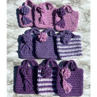 Crochet handmade little purse