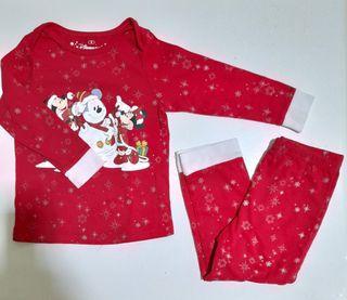 Disneyland Red Mickey Minnie Pajamas