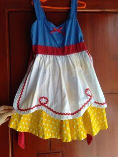 Dress snow white anak / kostum snow white / dress princess