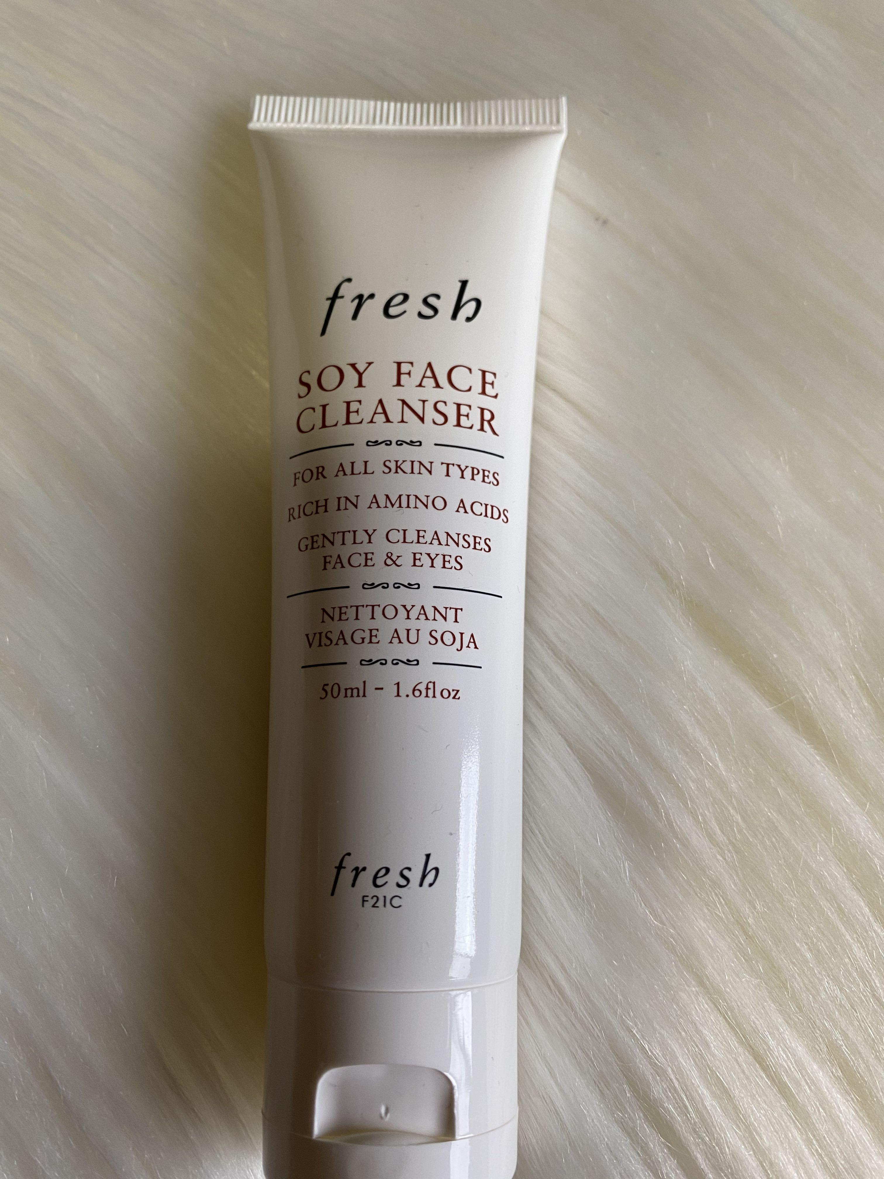FRESH SOY FACE CLEANSERS