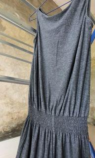 Gray jumpsuit casual