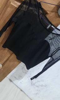 H&M Top Black