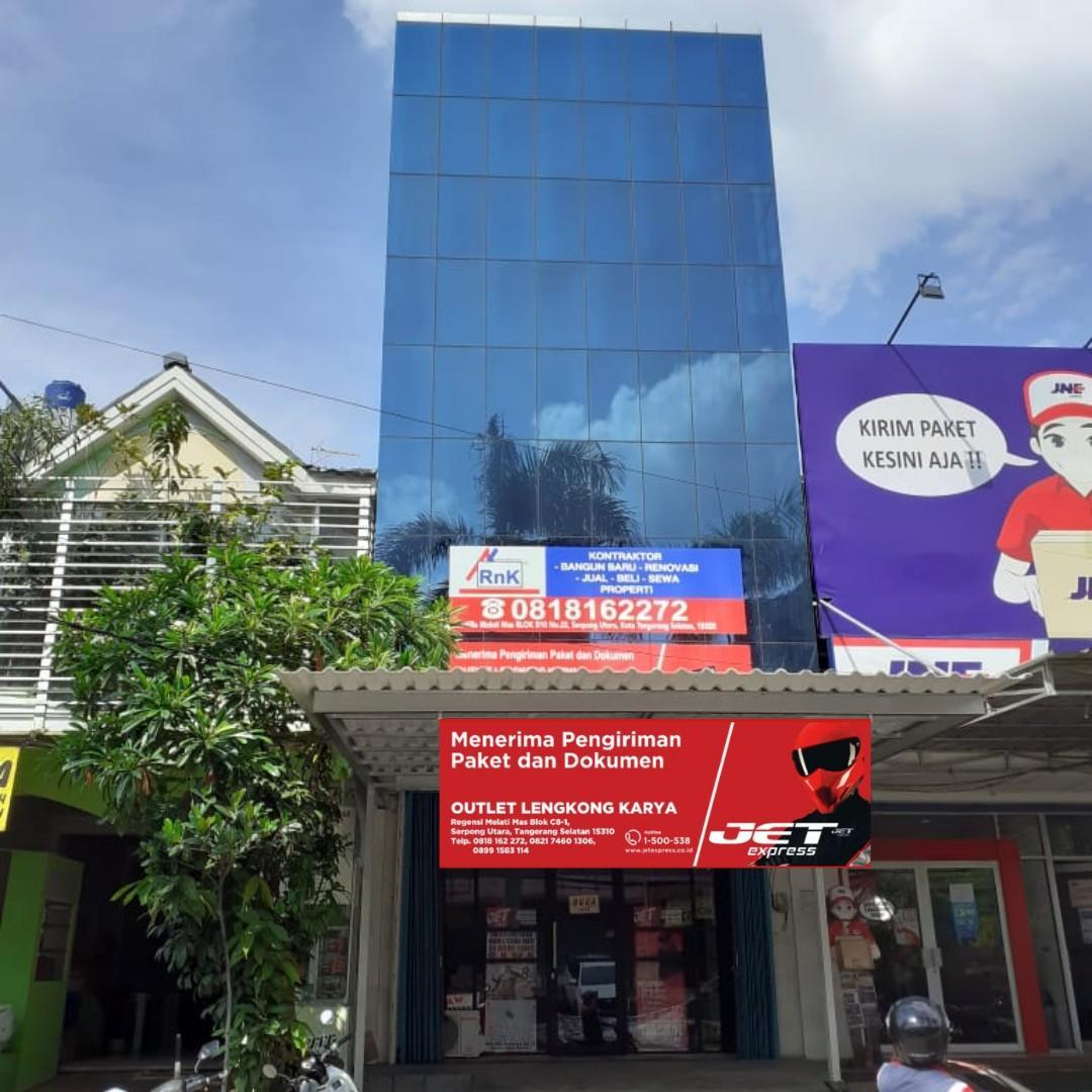 Jet Express Lengkong Karya menerima pengiriman Dokumen dan Paket