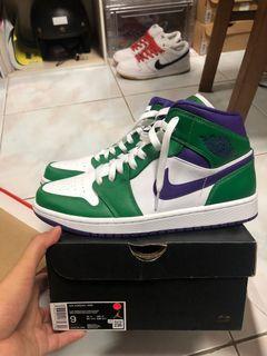 Jordan 1 Mid Green Hulk
