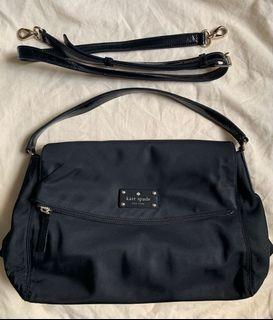 Like new Kate Spade Nylon Crossbody Handbag