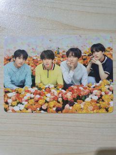 mini photocard unit love yourself japan   mpc lys japan bts   photocard
