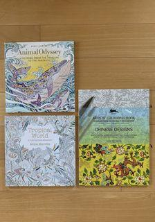 NEW Artists' Colouring Books