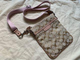 New COACH crossbody purse