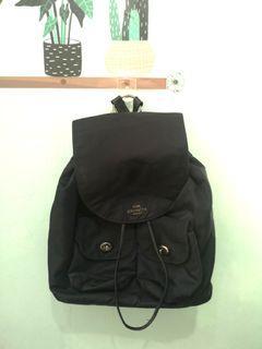 ORIGINAL Coach backpack nylon leather