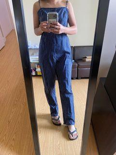 Pacsun Stripes Jumpsuit