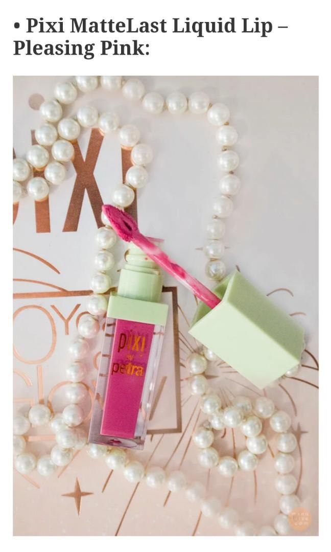 Pixi by Petra MatteLast Liquid Lip Pleasing Pink