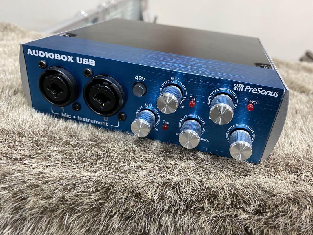 Presonus audio box 錄音介面