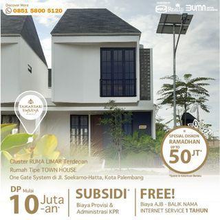 Rumah 2 Lantai Promo Ramadhan Lokasi Strategis