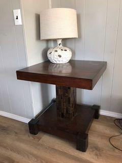 Rustic/farmhouse side tables