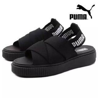 Sandal platform puma black