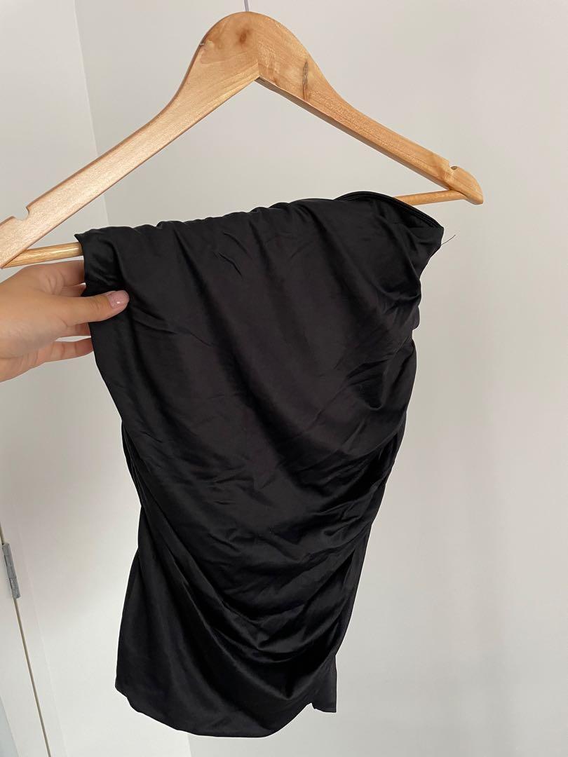 Slinky Midi Skirt - Size xs