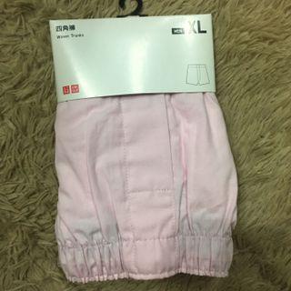 UQ全新粉色內褲 Xl