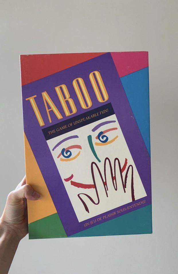 Vintage 1990 Taboo