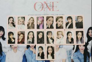 WTS> IZONE IZ*ONE ONE, THE STORY Benefit PhotoCard