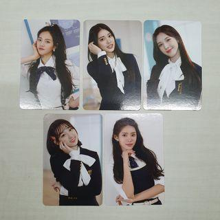wts weeekly we are mmt photocards