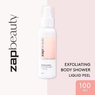 ZAP Beauty Exfoliating Body Shower Liquid Peel 100 ml