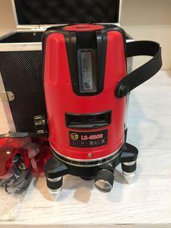 雷射水平儀 LS-650R (紅光)