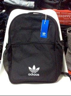 ADIDAS ORIGINALS Trefoil logo backpack with side mesh pockets. New with tags