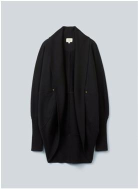 Aritzia Wilfred Black Diderot Cocoon Sweater - XS