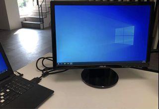 ASUS VE198 華碩 液晶顯示器 電腦屏幕 24 inch LED MONITOR 無汞 LED 背光面板