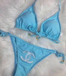 Chanel Blue Bikini