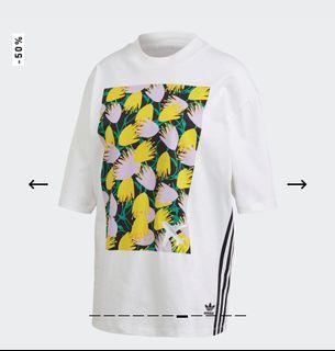 Kaos adidas wanita