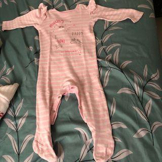 Mothercare sleepsuit cewe 1 tahun