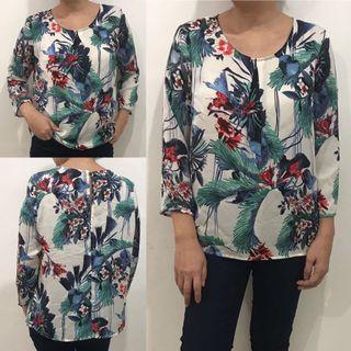 Portmans floral blouse