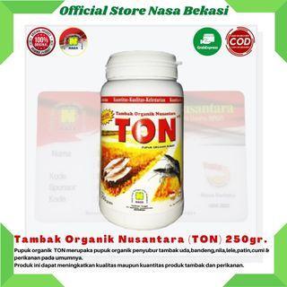 Pupuk Tambak Organik Nusantara Cocok untuk Semua Jenis Hewan Tambak Dan Perikanan - TON 250gr