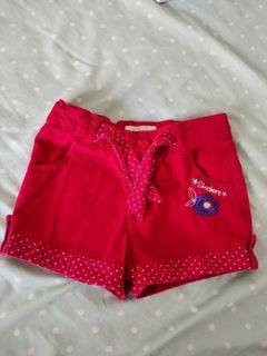 Red pants kids