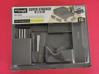 SQUIGGLY SUPER STACKED DESK SET  12 PC SET