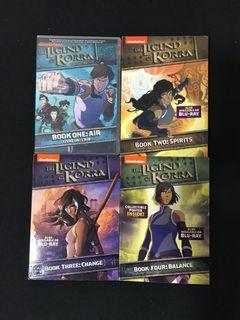 The Legend of Korra - The Complete DVD Series