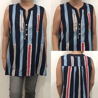 Threadz stripe blouse
