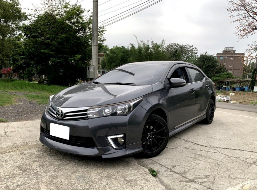 Toyota 2014 Corolla Altis 1.8❗0頭期❗0元牽車❗高期數❗低月付❗客制改裝❗輕鬆把🚗牽回家❤️
