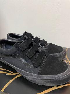 Vans范斯魔鬼氈純黑板鞋/少穿出清斷捨離/工裝必備/滑板🛹 #2021地球日