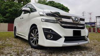 2016 Toyota Vellfire 3.5 Executive Lounge MPV