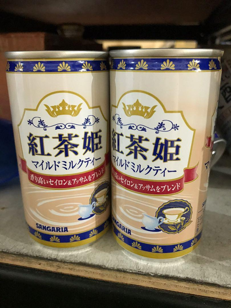 日本紅茶姬奶茶單瓶