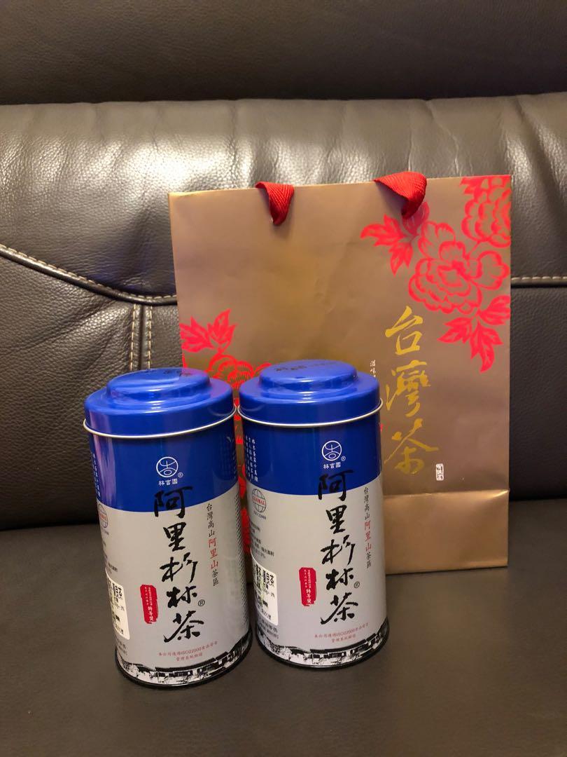 台灣茶葉 #茶葉 #阿里山杉林茶#比賽茶#優等獎#150g*2/送禮 、禮盒 、端午 過年 中秋, 只有這一盒