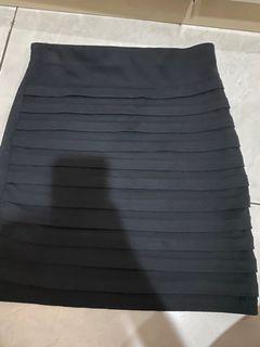 ❤️ black bandage skirt