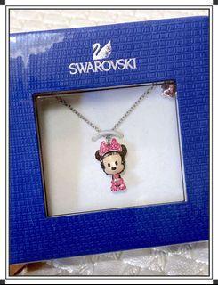 可議價✨全新 Swarovski 施華洛世奇 米妮水晶純銀項鍊