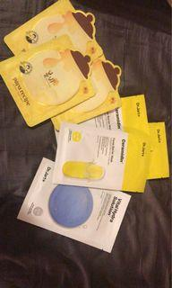 Assorted sheet masks