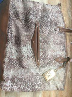 Authentic Ralph lauren snake skin bag